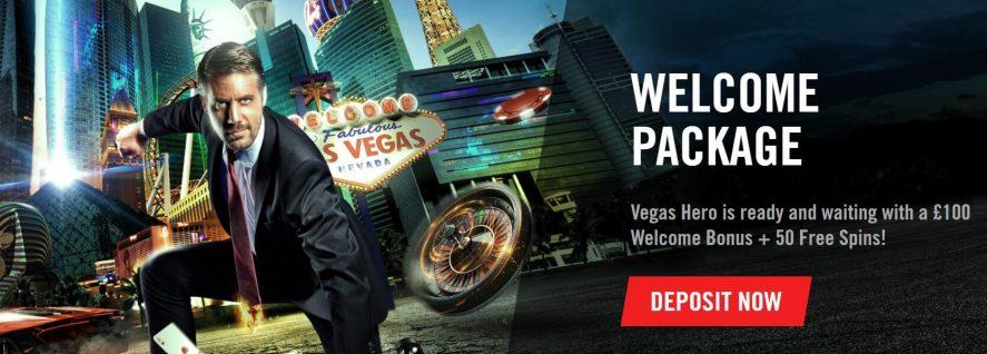 Bonus sambutan Pahlawan Vegas